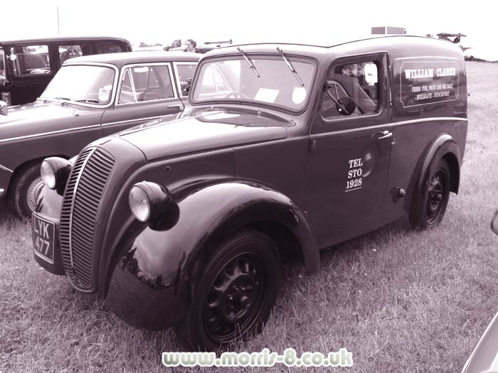 The 5cwt Morris van based on the 8's running gear